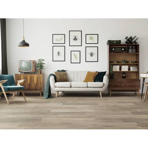 """Meadow Brook Collection by Paramount Flooring Engineered Hardwood 7-1/2"""" Oak - Bleached Coral"""