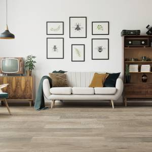 "Meadow Brook Collection by Paramount Flooring Engineered Hardwood 7-1/2"" Oak - Bleached Coral"