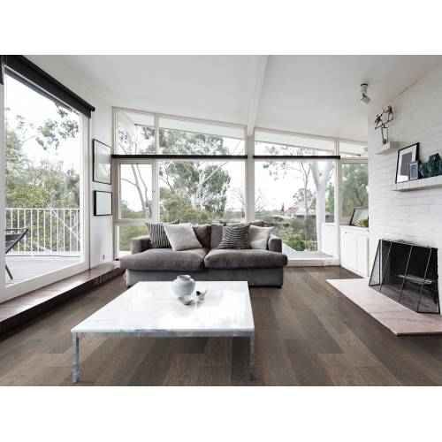 """Meadow Brook Collection by Paramount Flooring Engineered Hardwood 7-1/2"""" Oak - Lined Fence"""