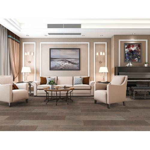 """Meadow Brook Collection by Paramount Flooring Engineered Hardwood 7-1/2"""" Oak - Stone Roof"""