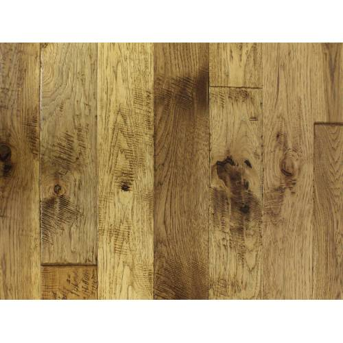 """Mountain Heritage Collection by Paramount Flooring Solid Hardwood 2-1/4"""", 3-1/4"""", 5"""" Hickory - Crestone"""
