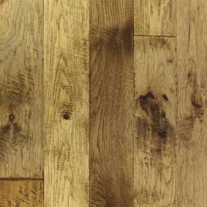 "Mountain Heritage Collection by Paramount Flooring Solid Hardwood 2-1/4"", 3-1/4"", 5"" Hickory - Crestone"