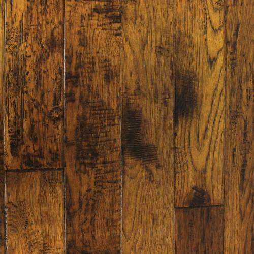 "Mountain Heritage Collection by Paramount Flooring Solid Hardwood 2-1/4"", 3-1/4"", 5"" Hickory - Denali"