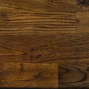 "New Castle Collection by Paramount Flooring Solid Hardwood 8"" Oak - Gunstock"