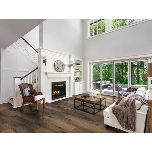 """Streamside Collection by Paramount Flooring Engineered Hardwood 7-1/2"""" Hickory - Bank Barn"""