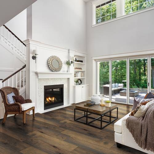 "Streamside Collection by Paramount Flooring Engineered Hardwood 7-1/2"" Hickory - Bank Barn"
