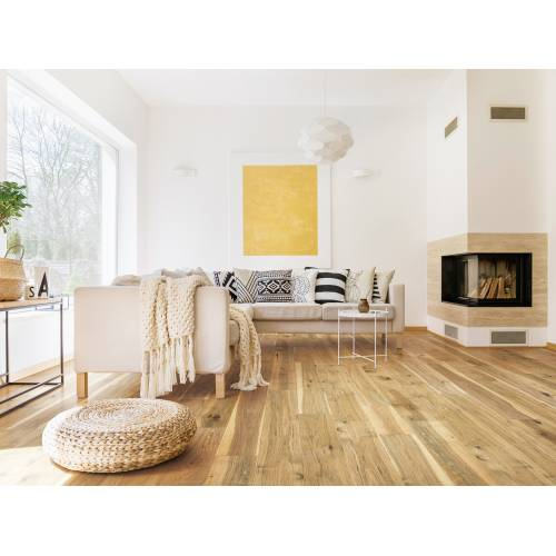 """Streamside Collection by Paramount Flooring Engineered Hardwood 7-1/2"""" Hickory - Natural Rustic"""