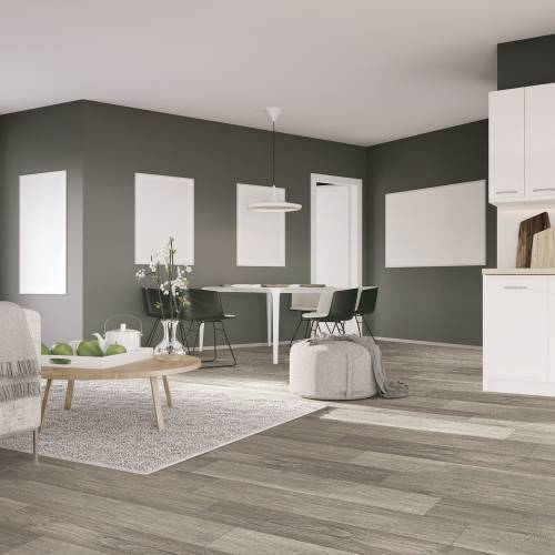 """Streamside Collection by Paramount Flooring Engineered Hardwood 7-1/2"""" Hickory - Rocky Hillside"""