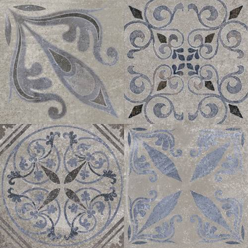 Antique Collection by Porcelanosa Ceramic Tile 23x23 Silver