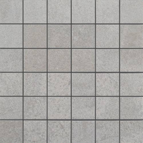 Deep Collection by Porcelanosa Mosaic Tile 12x12 Light Grey Nature