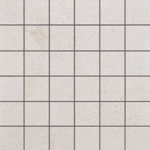 Deep Collection by Porcelanosa Mosaic Tile 12x12 White Nature