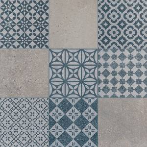 Marbella Collection by Porcelanosa Porcelain Tile 24x24 Blue