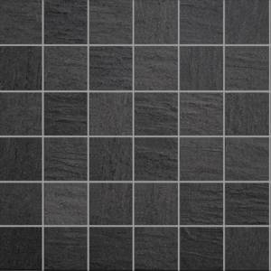 Max Collection by Porcelanosa Mosaic Tile 12x12 Black Nature