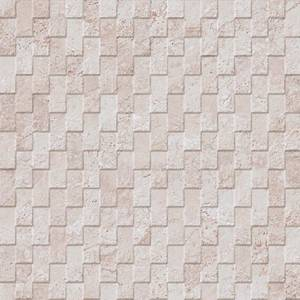 Mirage Collection by Porcelanosa Mosaic Tile 13x40 Cream Deco