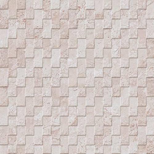 Mirage Collection by Porcelanosa Mosaic Tile 13x40 Cream Deco