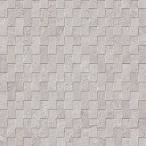 Mirage Collection by Porcelanosa Mosaic Tile 13x40 Silver Deco