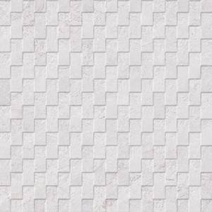 Mirage Collection by Porcelanosa Mosaic Tile 13x40 White Deco