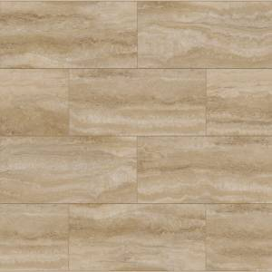 RigidCORE Keystone Tile Collection by Paramount Vinyl Tile 12x24 Calcutta Gold