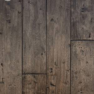 African Plains Collection by Provenza Floors Engineered Hardwood 5 in. Hevea - Black River