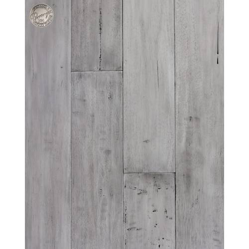 African Plains Collection by Provenza Floors Engineered Hardwood 5 in. Hevea - Great Rift