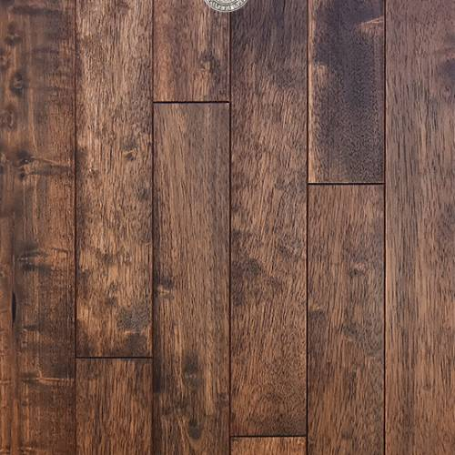 East Coast Originals Collection by Provenza Floors Solid Hardwood 3.5 in. Hevea - Georgetown