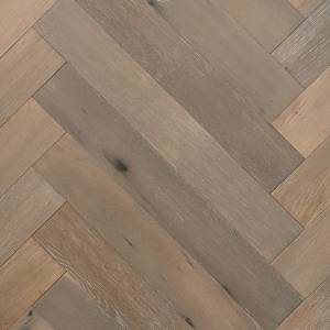 Herringbone Reserve Collection by Provenza Floors Engineered Hardwood 3.5 in. Oak - Dovetail