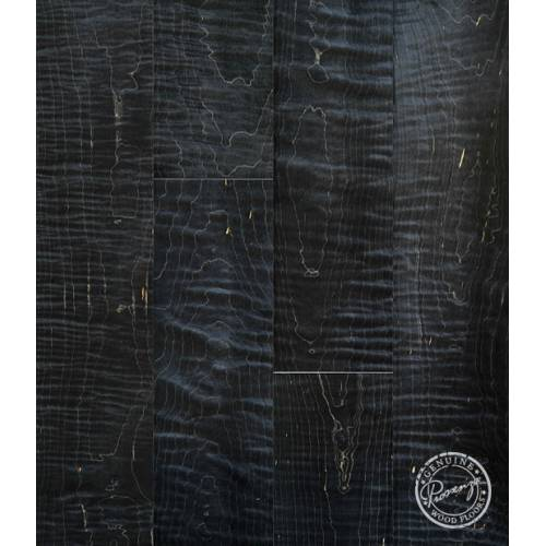 Infusion Collection by Provenza Floors Engineered Hardwood 4.5 in. Figured Curly Maple - Black Panther