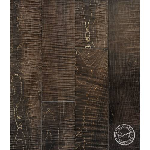 Infusion Collection by Provenza Floors Engineered Hardwood 4.5 in. Figured Curly Maple - Cocoa Brown