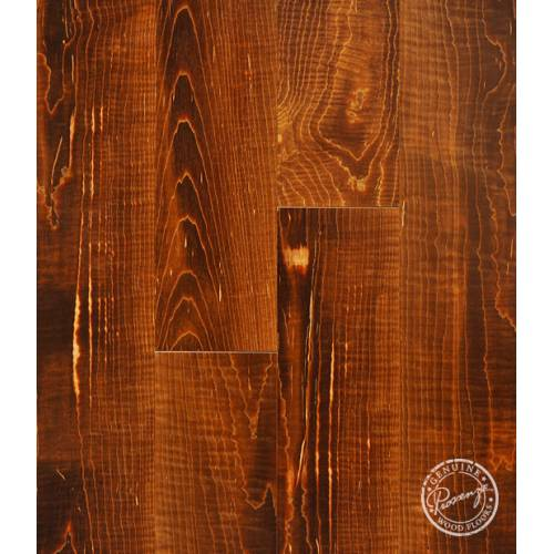 Infusion Collection by Provenza Floors Engineered Hardwood 4.5 in. Figured Curly Maple - Rich Amber
