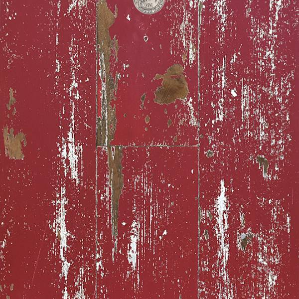 Ruby Red Weathered