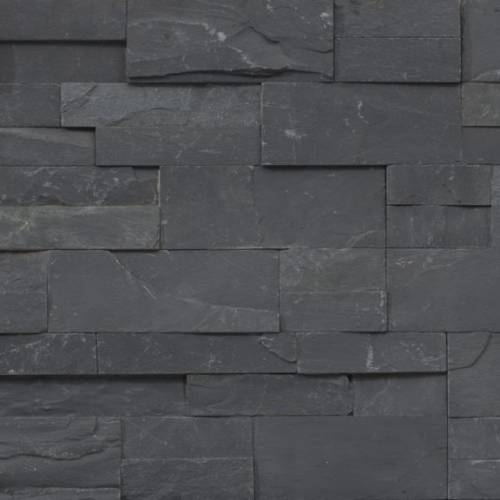 Accentstone Collection by Realstone Systems Ledger Panel 6x24 Charcoal