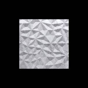 Alesio 3D Collection by Realstone Systems Marble Tile 24x24 Frost Petra