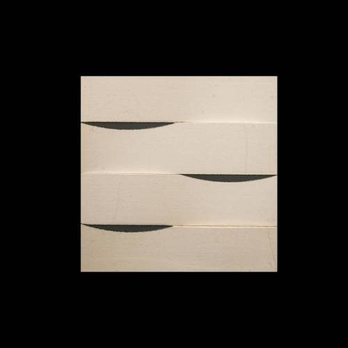 Alesio 3D Collection by Realstone Systems Marble Tile 6x24 Creme Weave