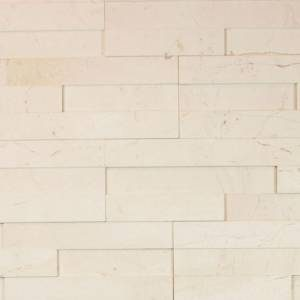 Alesio Collection by Realstone Systems Ledger Panel 6x24 Creme Honed