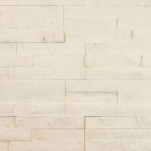 Alesio Collection by Realstone Systems Ledger Panel 6x24 Creme Ledgestone