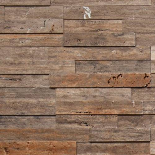 Alesio Collection by Realstone Systems Ledger Panel 6x24 Spalted Oak Honed