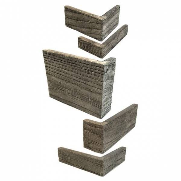 Barnwood Corner Set (11.875 in. Total Height)
