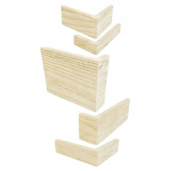 Driftwood Corner Set (11.875 in. Total Height)