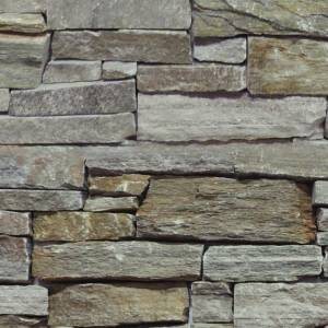Estate Stone Collection by Realstone Systems Ledger Panel 18x8 Greystone Gold