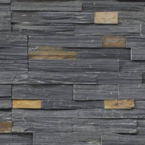 Ledgestone Collection by Realstone Systems Ledger Panel 6x24 Charcoal