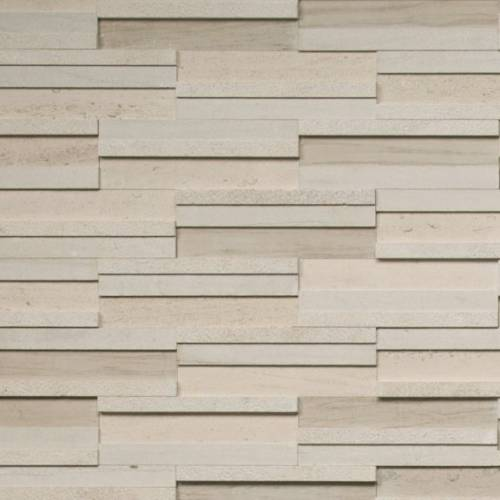 Portugal Collection by Realstone Systems Ledger Panel 4x12 Areia Dimensional