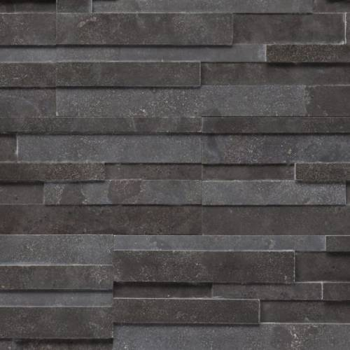 Realstone Collection by Realstone Systems Ledger Panel 6x24 Carbon Honed