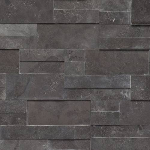 Realstone Collection by Realstone Systems Ledger Panel 6x24 Carbon Honed Accentstone