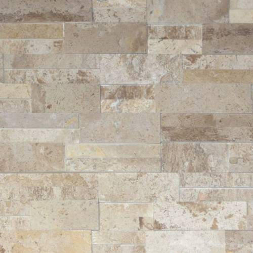 Realstone Collection by Realstone Systems Ledger Panel 6x24 Latte Honed Accentstone