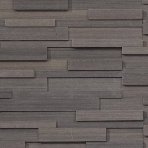 Realstone Collection by Realstone Systems Ledger Panel 6x24 Mocha Birch Honed