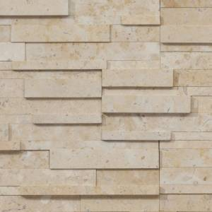Realstone Collection by Realstone Systems Ledger Panel 6x24 Roman Beige Honed