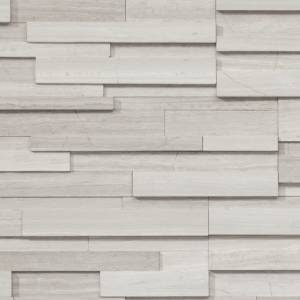 Realstone Collection by Realstone Systems Ledger Panel 6x24 White Birch Honed