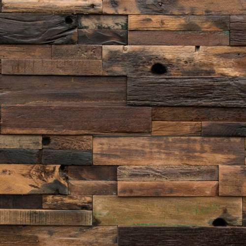 Reclaimed Wood Collection by Realstone Systems Wallplank 12x24 Dark Panel