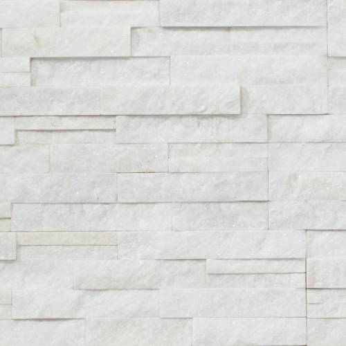 Shadowstone Collection by Realstone Systems Ledger Panel 6x24 Arctic White