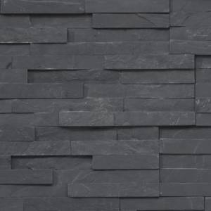 Shadowstone Collection by Realstone Systems Ledger Panel 6x24 Charcoal